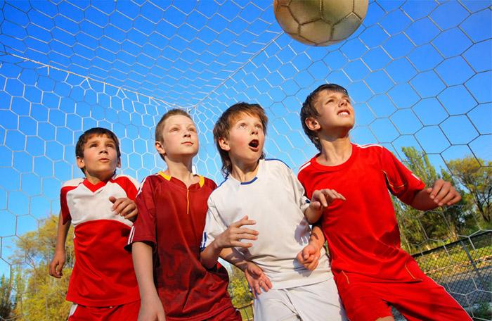 Спорт в детском лагере